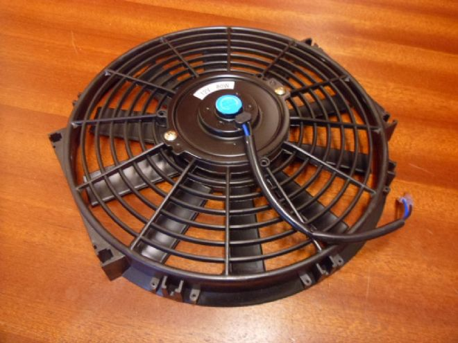 Radiator Fan - Low Profile - High Output
